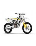 Pièces Racing pour Husqvarna/HVA 350 FC/FE motocross  DRAG'ON TEK.